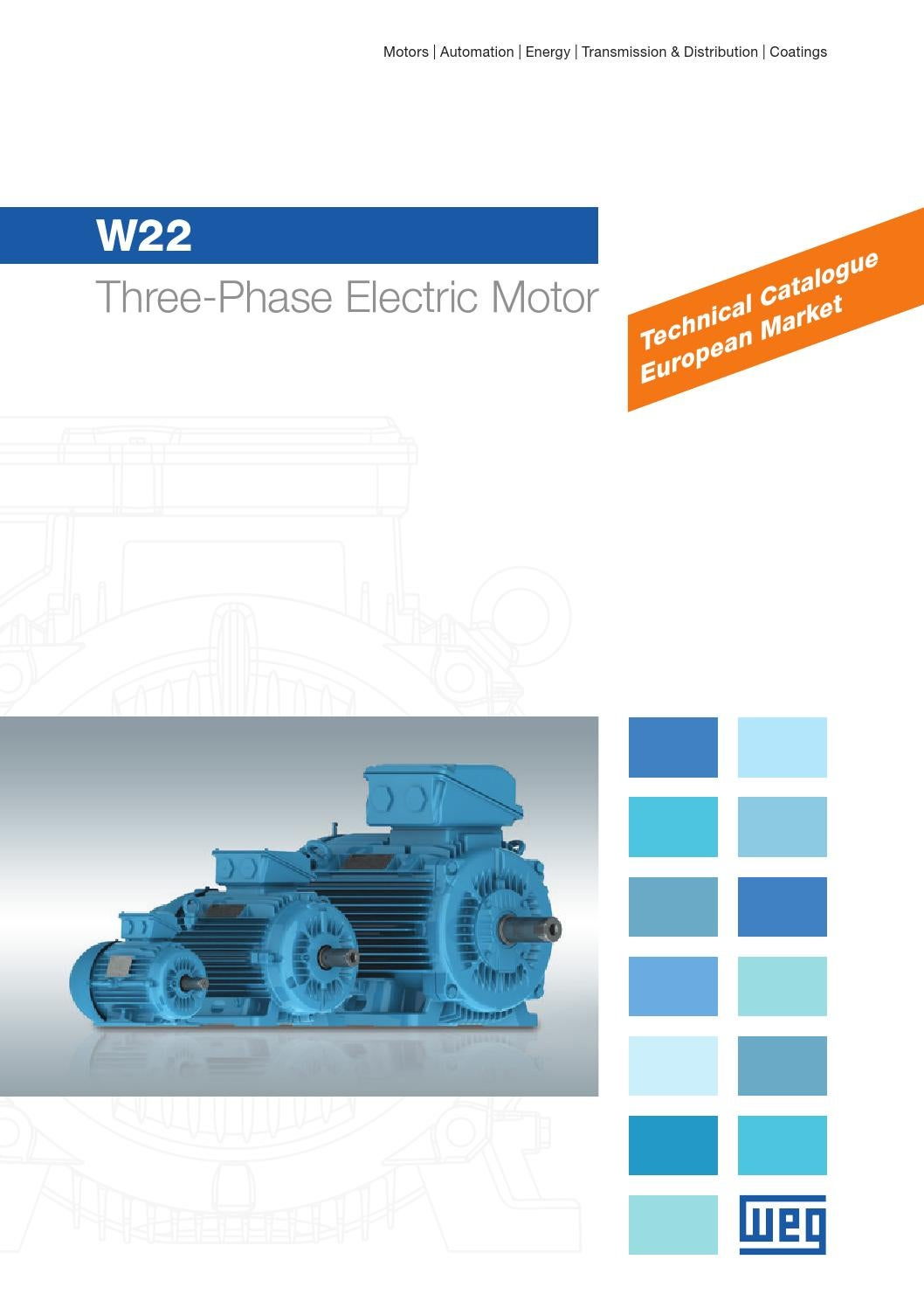 WEG W22 Three Phase Motor - Technical Brochure | ERIKS by ERIKS ...