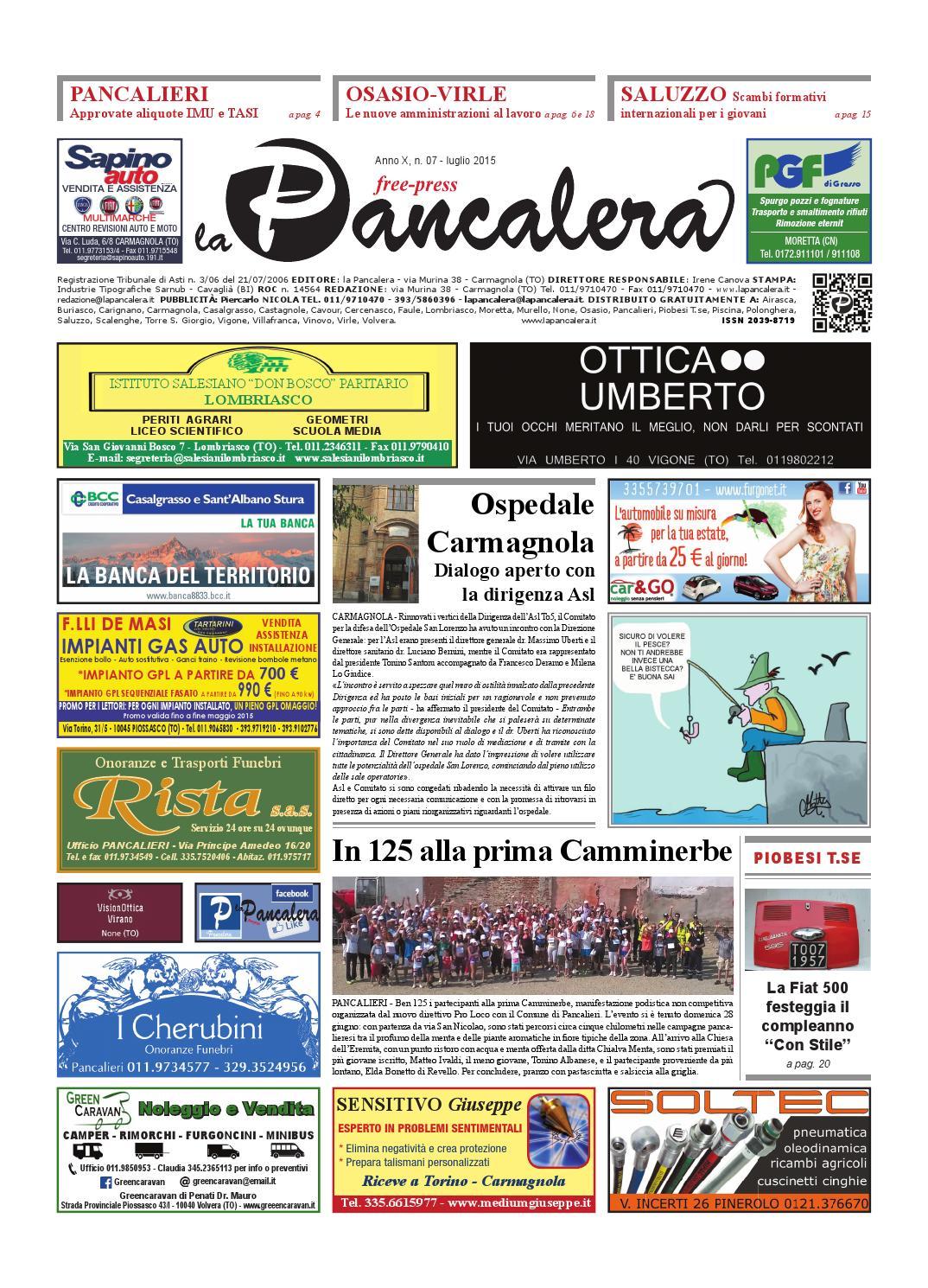 La pancalera luglio 2015 by la Pancalera - issuu 2b1f3bf7a12