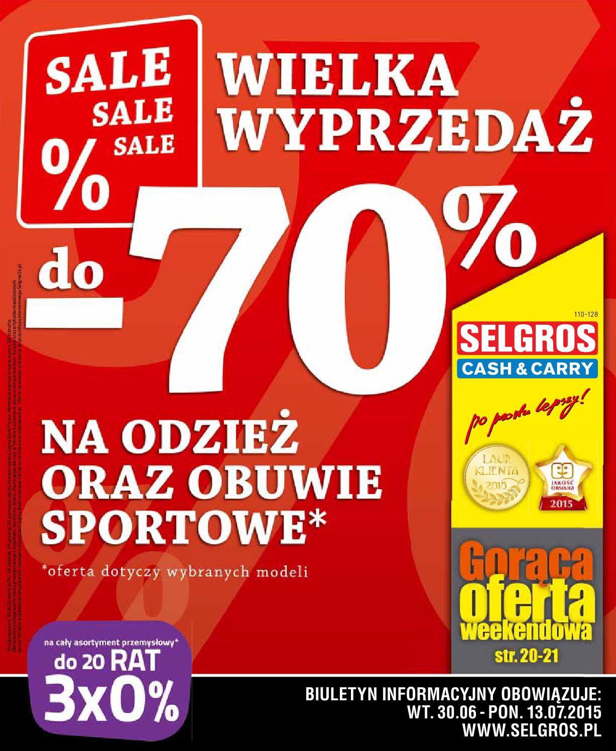 the best attitude bb162 34171 Selgros wielka wyprzedaż 30 13 07 by Finmarket - issuu