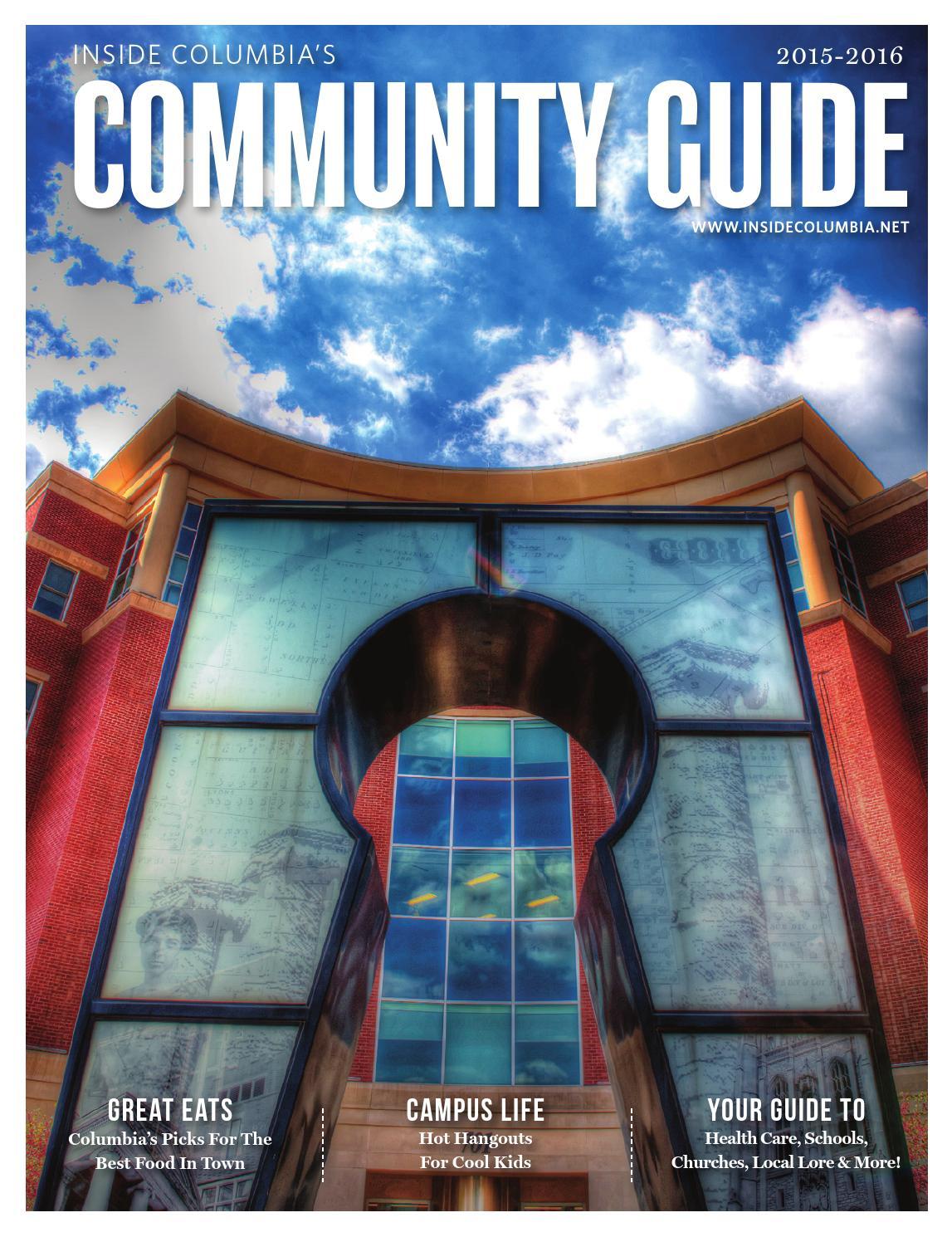 Community Guide 2015-2016 by Inside Columbia Magazine - issuu