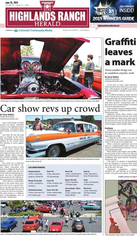 Highlands Ranch Herald By Colorado Community Media Issuu - Lakewood ranch classic car show