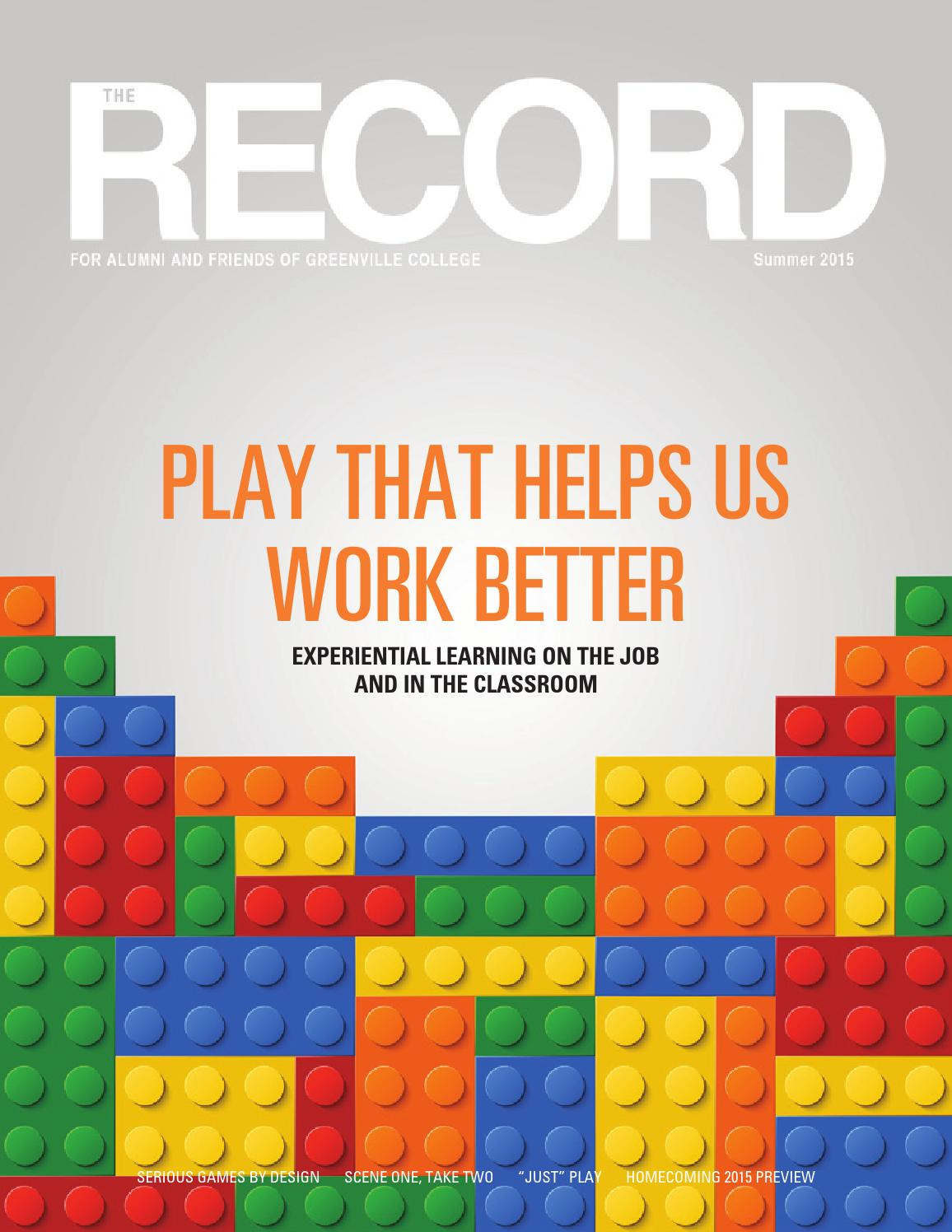 The RECORD, Summer 2015 by Greenville University - issuu