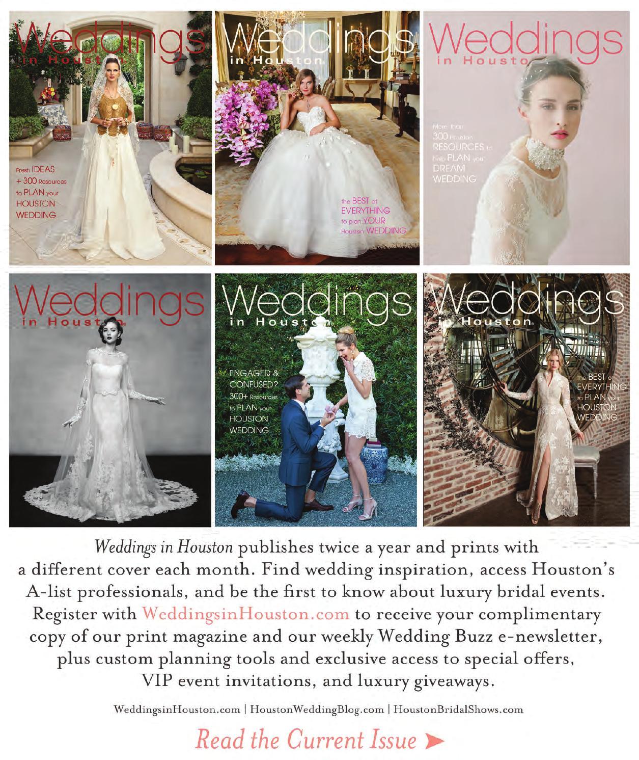Weddings in Houston July 2015 Issue