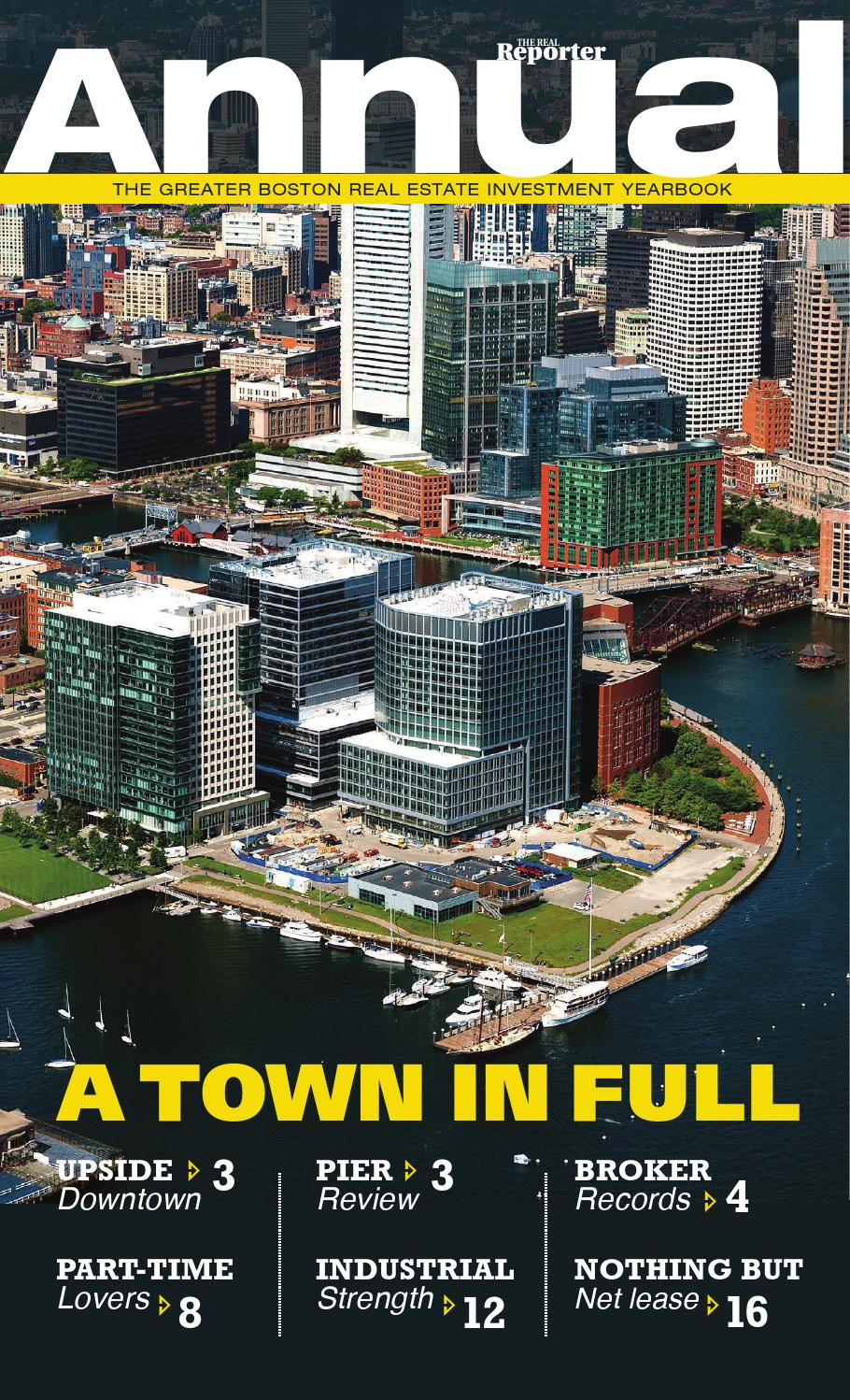 Annual Real Estate Investment Report - Greater Boston by The