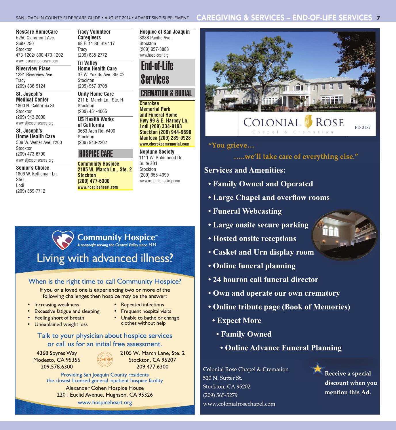 Eldercare Resource Guide 2014 by The Record Specialty