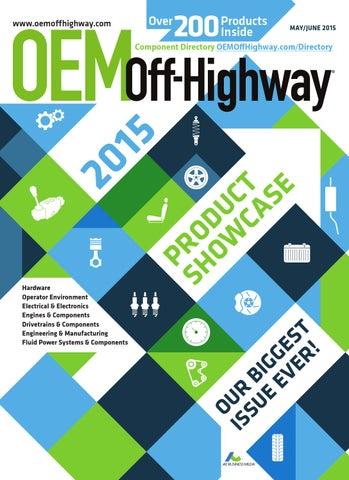 OEM Off-Highway May/June 2015 by OEM Off-Highway - issuu