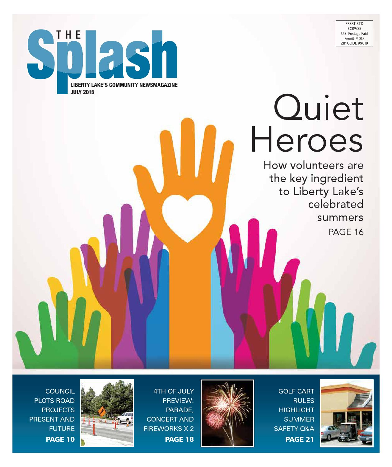 July 2015 Splash by The Liberty Lake Splash issuu