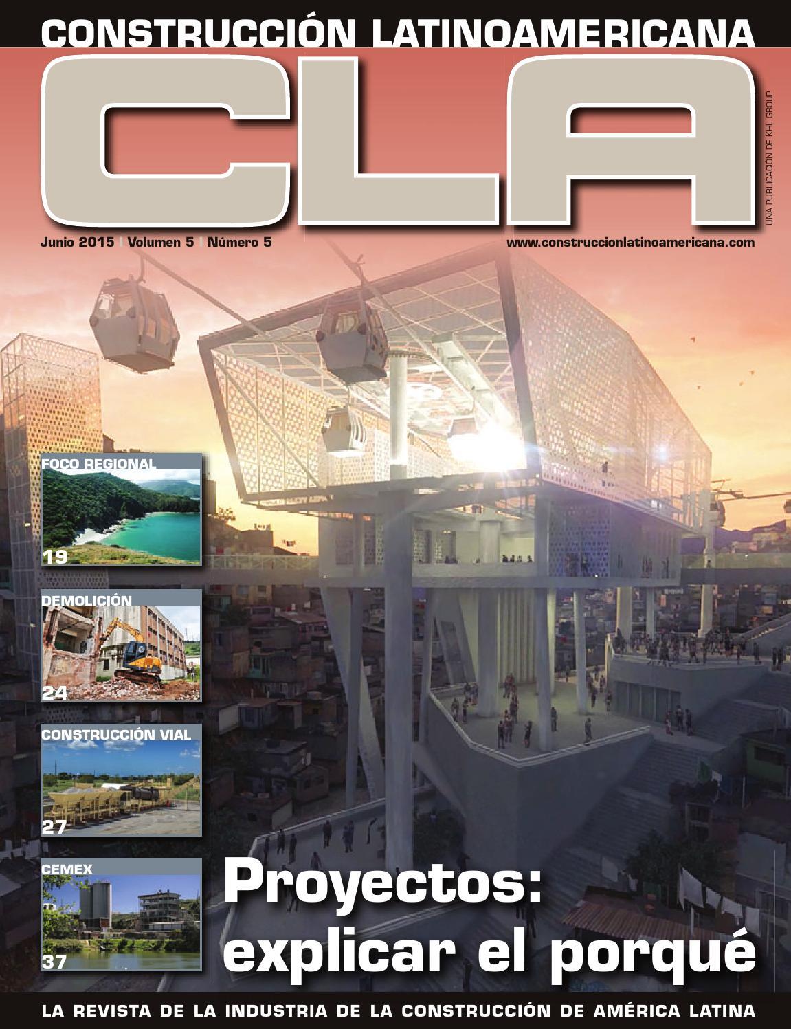 Construcción Latinoamericana Junio 2015 by Raul M. E. - issuu