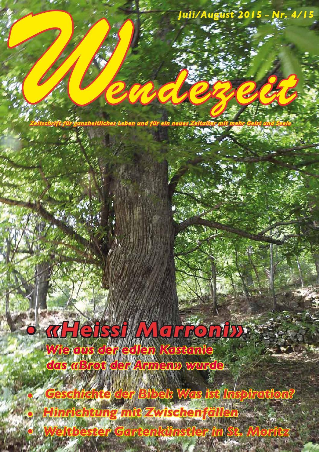 Wendezeit 4/15 - Heissi Marroni by Fatema Verlag - issuu
