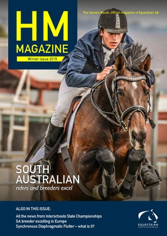 The Horse S Mouth Winter Issue 2015 By Equestrian Sa Issuu