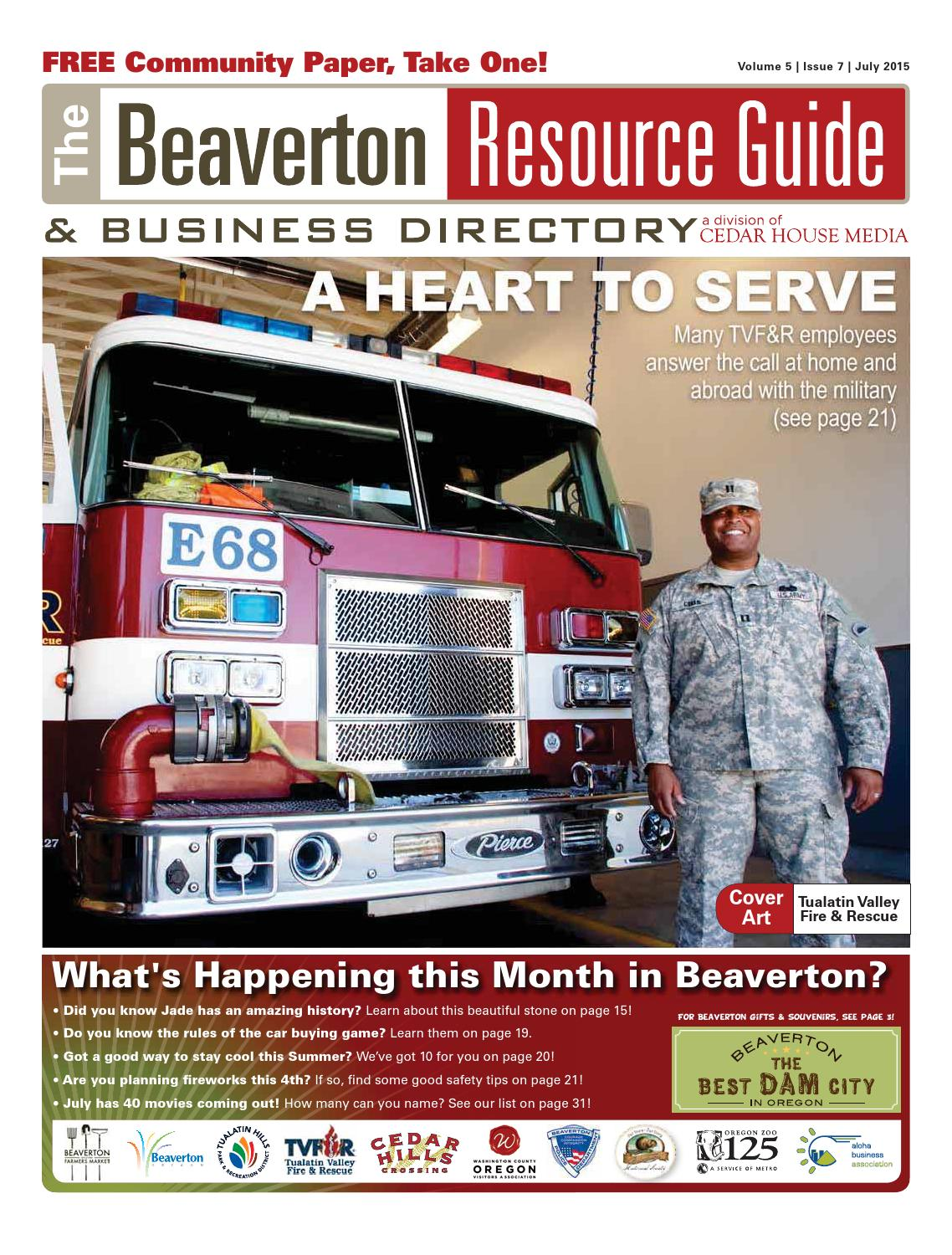 BRG July 2015 by Beaverton Resource Guide - issuu