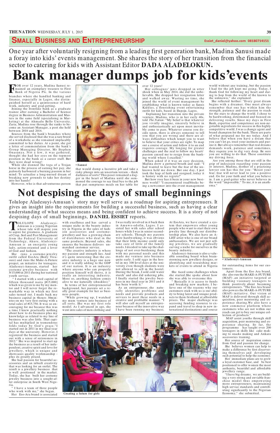 The Nation July 01, 2015 by The Nation - issuu