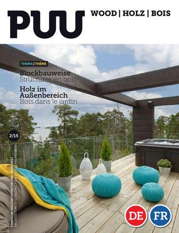 HolzBois-magazine 2/15 by Puu-lehti / Wood Magazine / Holz ...