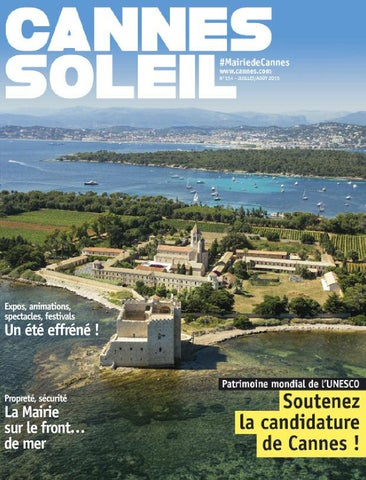 Juillet Août 2017 - Cannes Soleil by Ville de Cannes - issuu fddf7aba1f9
