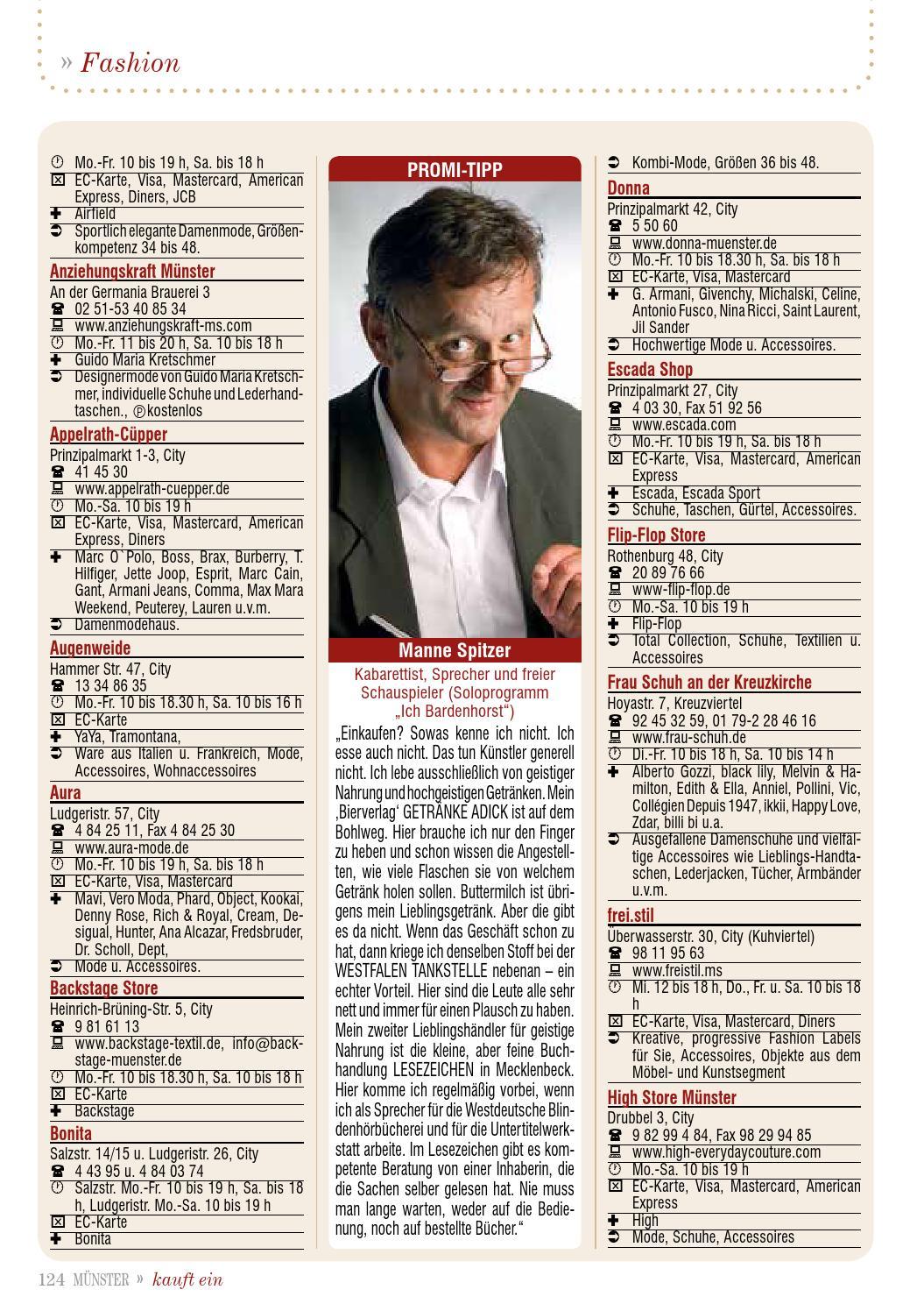 Münster kauft ein by Tips Verlag GmbH - issuu