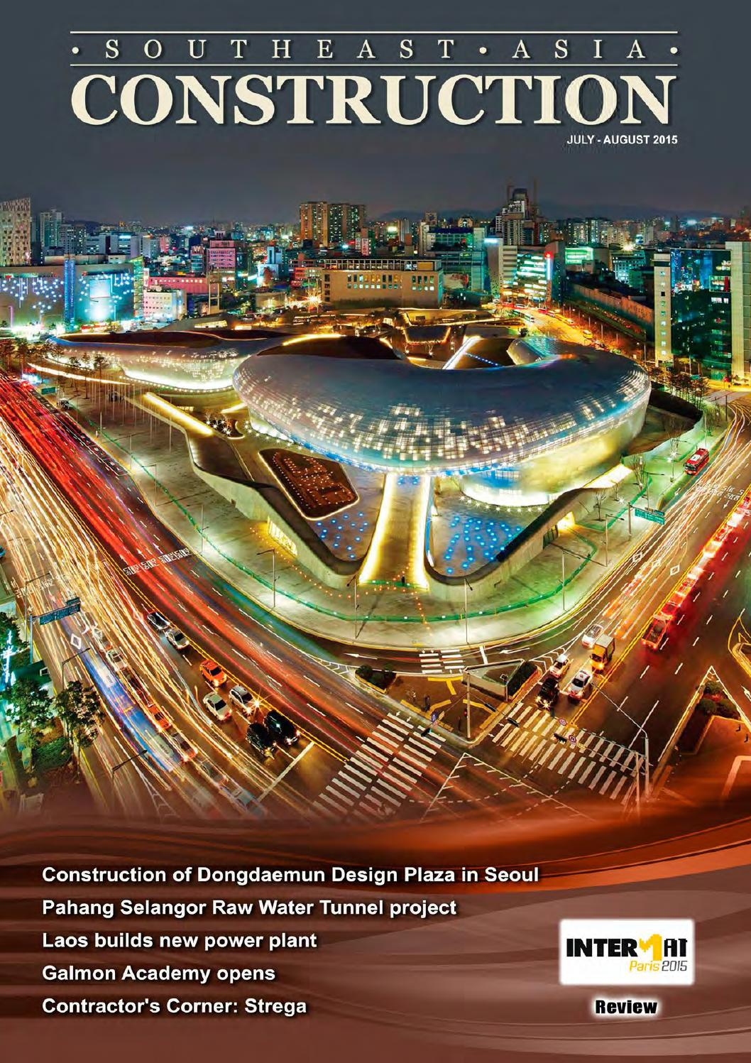 Southeast Asia Construction : Jul-Aug 2015 by Southeast Asia