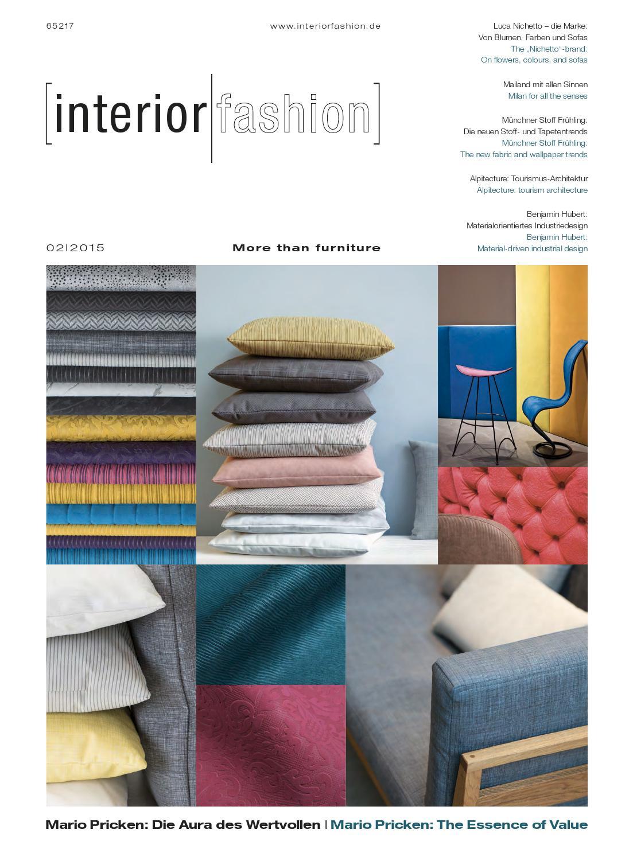 InteriorFashion 2|2015 by InteriorFashion - issuu