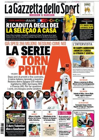 cb6521a515dbf5 La Gazzetta dello Sport (06-28-2015) by Nguyen Duc Thinh - issuu