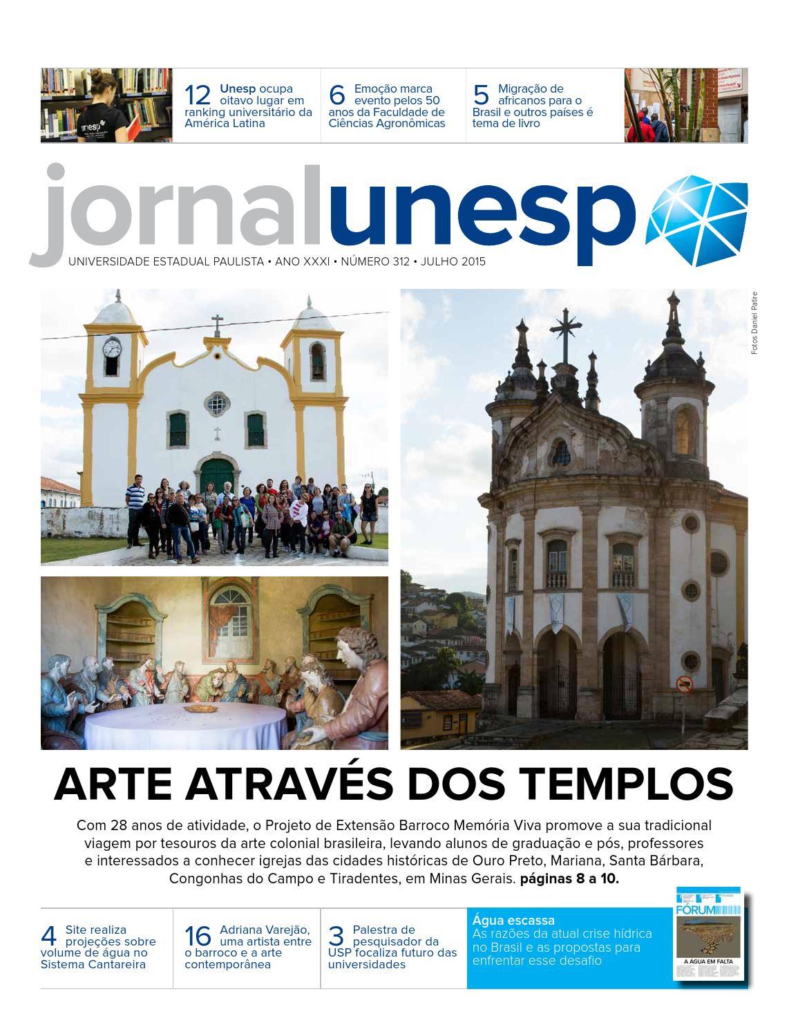 Jornal Unesp - Número 312 - Julho 2015 by Assessoria de Comunicação e  Imprensa da Unesp ACI - issuu 426950e8697ab