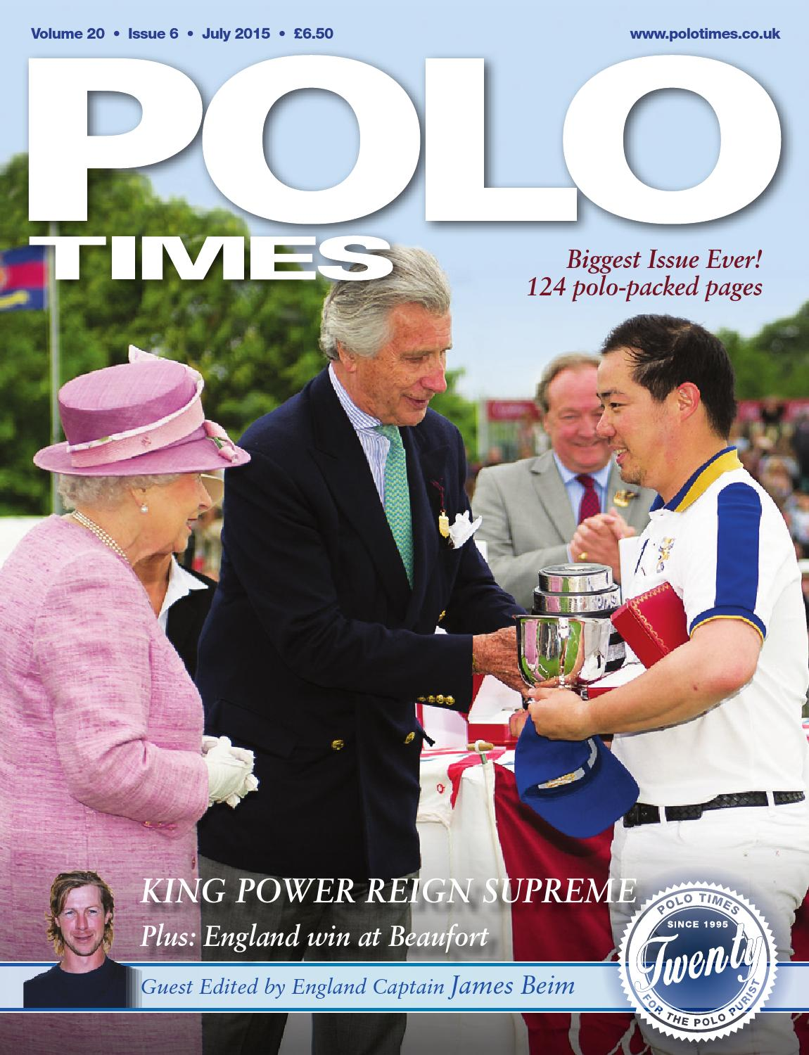 Polo Times July15 by Edit - issuu