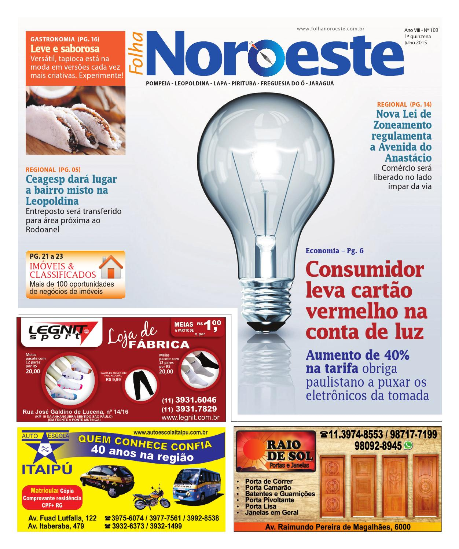 51f5ac1213d5 Edição 169 by Folha Noroeste - issuu