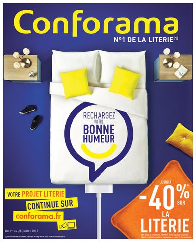 Conforama catalogue 1 28juillet2015 by PromoCatalogues.com - issuu