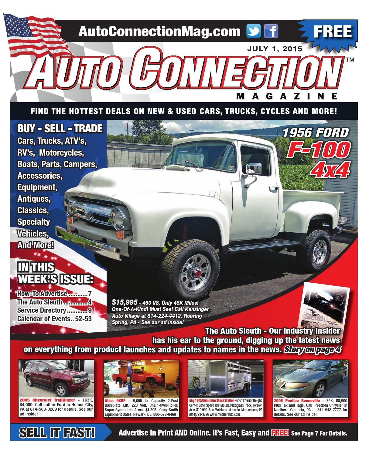 07 01 15 Auto Connection Magazine By Issuu Diy Eliminate Guages Headlight Signal Harness Switch 600rrnet