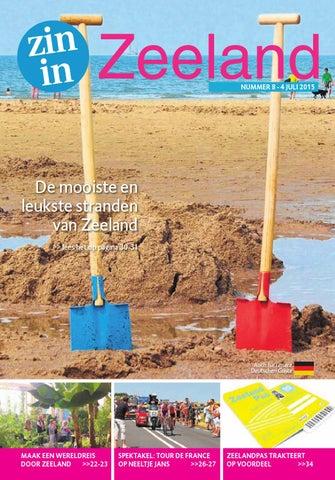 Charlatan Bieweg Veere.Zin In Zeeland Nr 8 4 Juli 2015 By Pzc Issuu