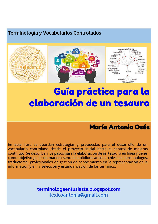 Guía práctica para la elaboración de un tesauro by ...