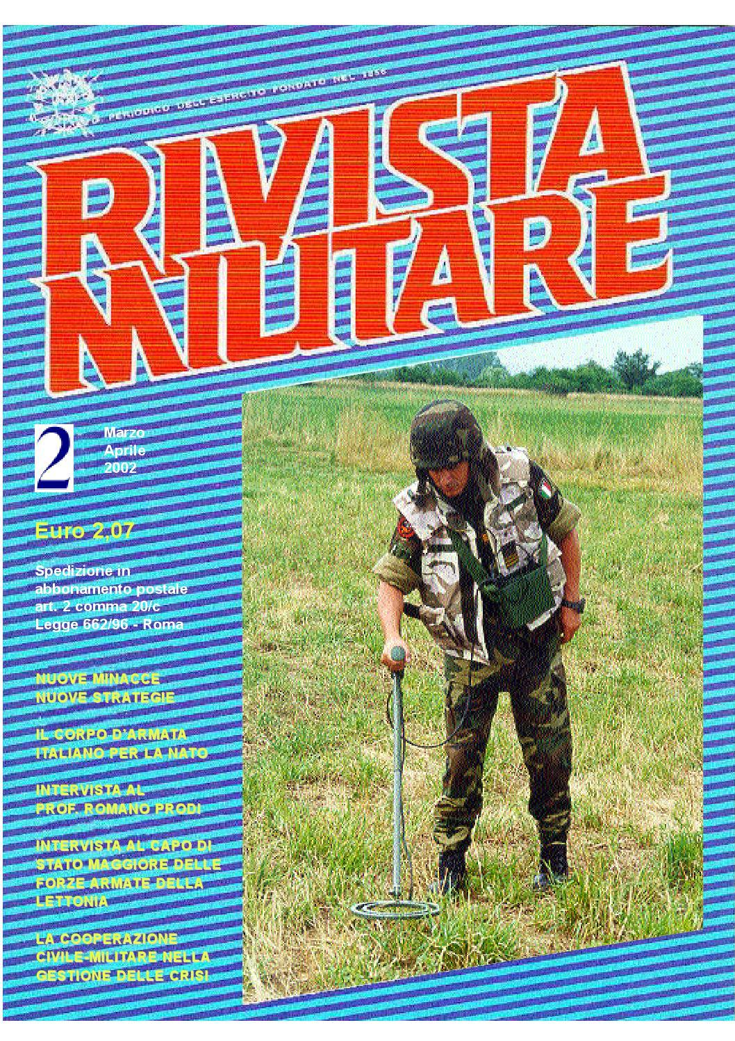 RIVISTA MILITARE 2002 N.2 by Biblioteca Militare - issuu 2bc88658c1e8