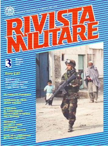 RIVISTA MILITARE 2002 N.3 by Biblioteca Militare - issuu 5d9dac68c71c