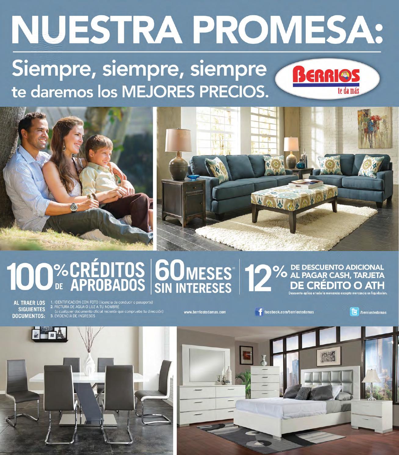 Mueblerias Berrios | Shopper Promesa 2015 by Berrios