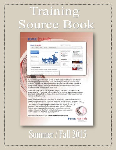 Training Source Book: Volume I by Federal Buyers Guide, inc  - issuu