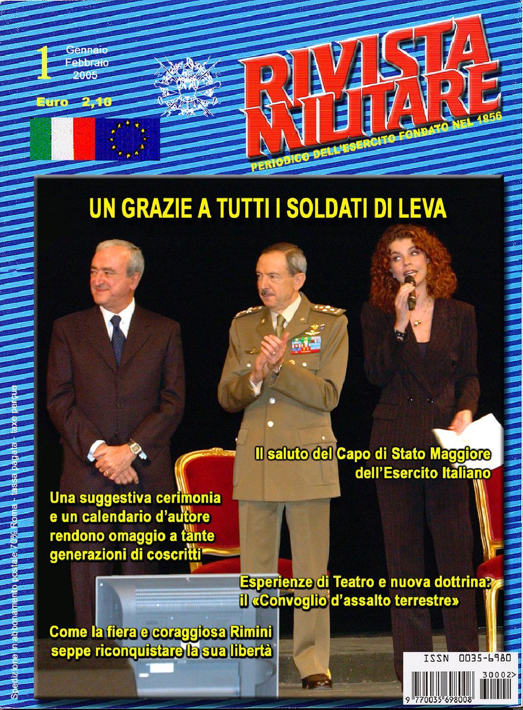 RIVISTA MILITARE 2005 N.1 by Biblioteca Militare - issuu 74bb6bcee5f7