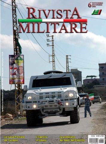 RIVISTA MILITARE 2006 N.6 by Biblioteca Militare - issuu dc17163db8ca