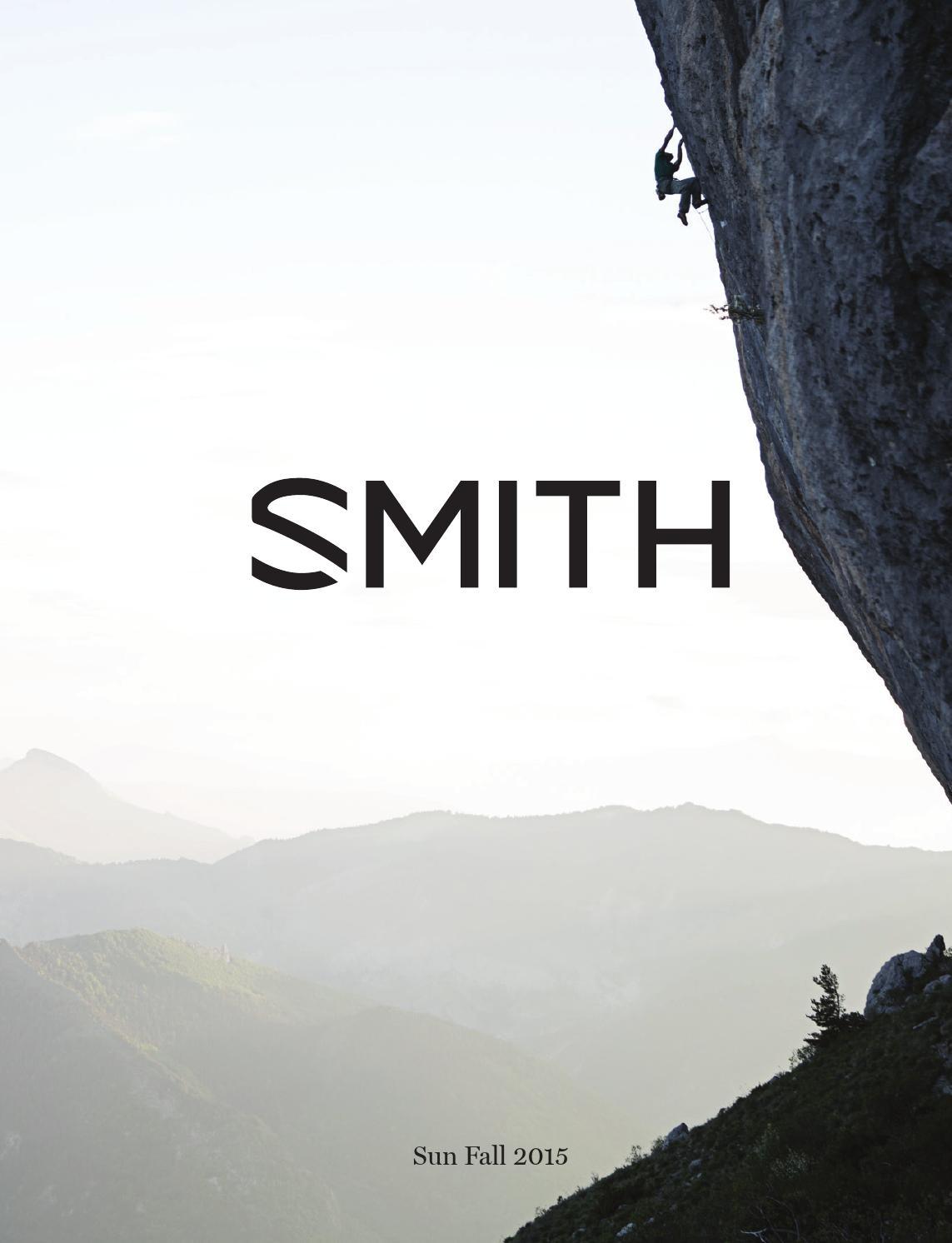 eec0c267c58 SMITH FALL 2015 SUNGLASS CATALOG by Smith - issuu
