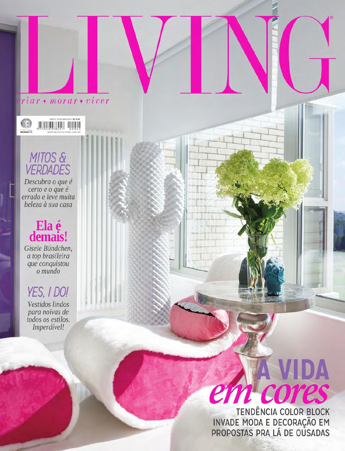 c463f66c23ffe Revista Living - Edição nº46 - Maio de 2015 by Revista Living - issuu
