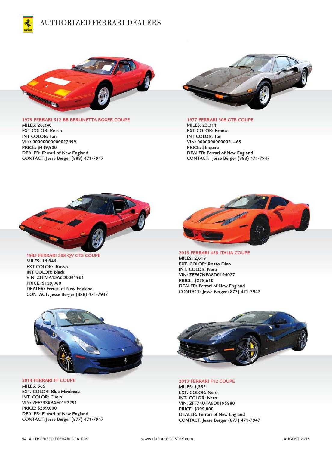 duPontREGISTRY Autos August 2015 by duPont REGISTRY - issuu