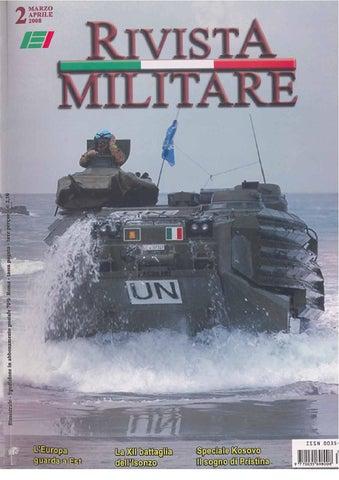 RIVISTA MILITARE 2008 N.2 by Biblioteca Militare - issuu 5aeac3df2871