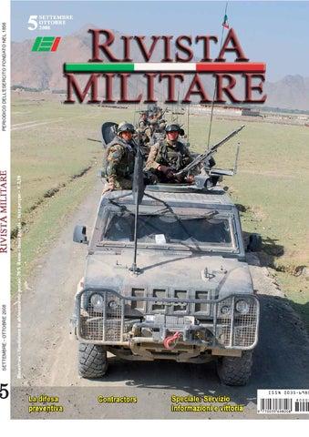 RIVISTA MILITARE 2008 N.5 by Biblioteca Militare - issuu 6a95c8b8409