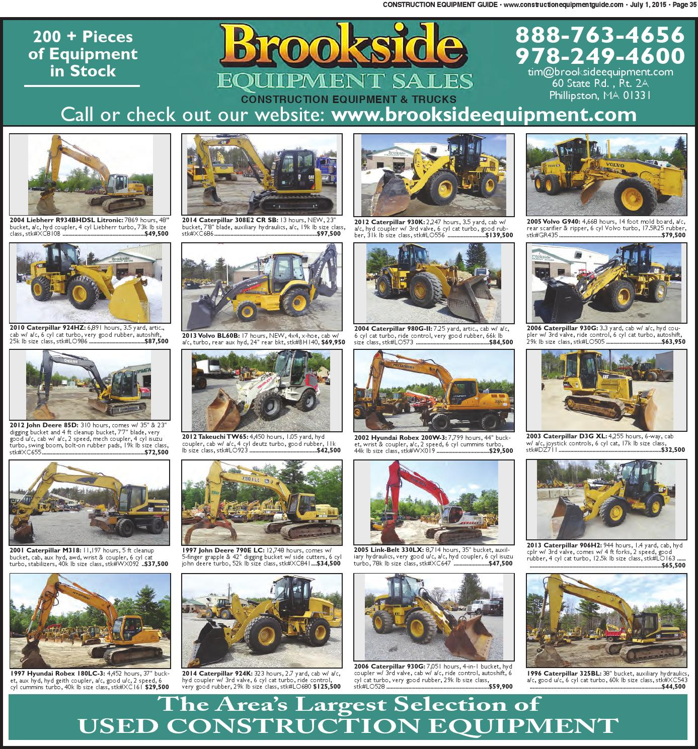 Northeast 13 2015 by Construction Equipment Guide - issuu