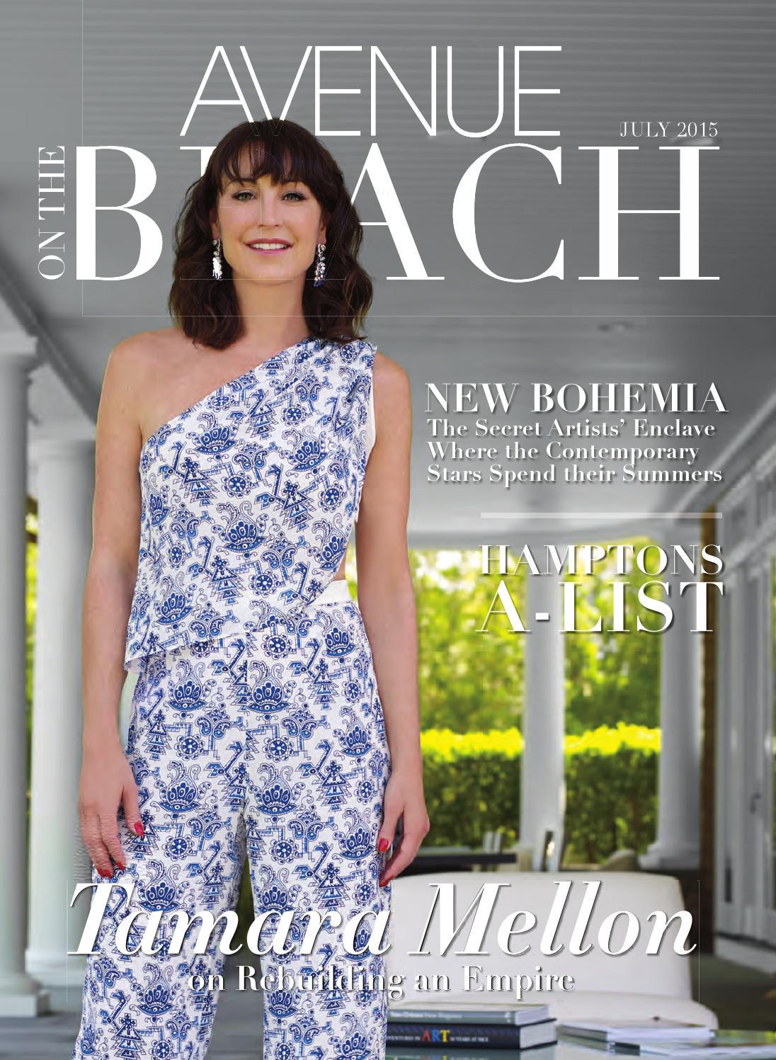 cd3b79b79dc AVENUE ON THE BEACH July 2015 by AVENUE Magazine - issuu