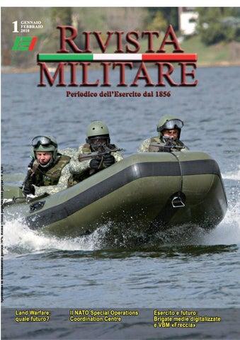 RIVISTA MILITARE 2010 N.1 by Biblioteca Militare - issuu b885e7ba32a