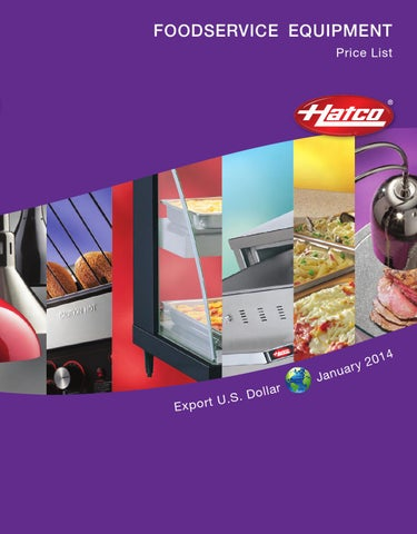 Hatco 2014 Food Service Equipment by Equipando.com - issuu on