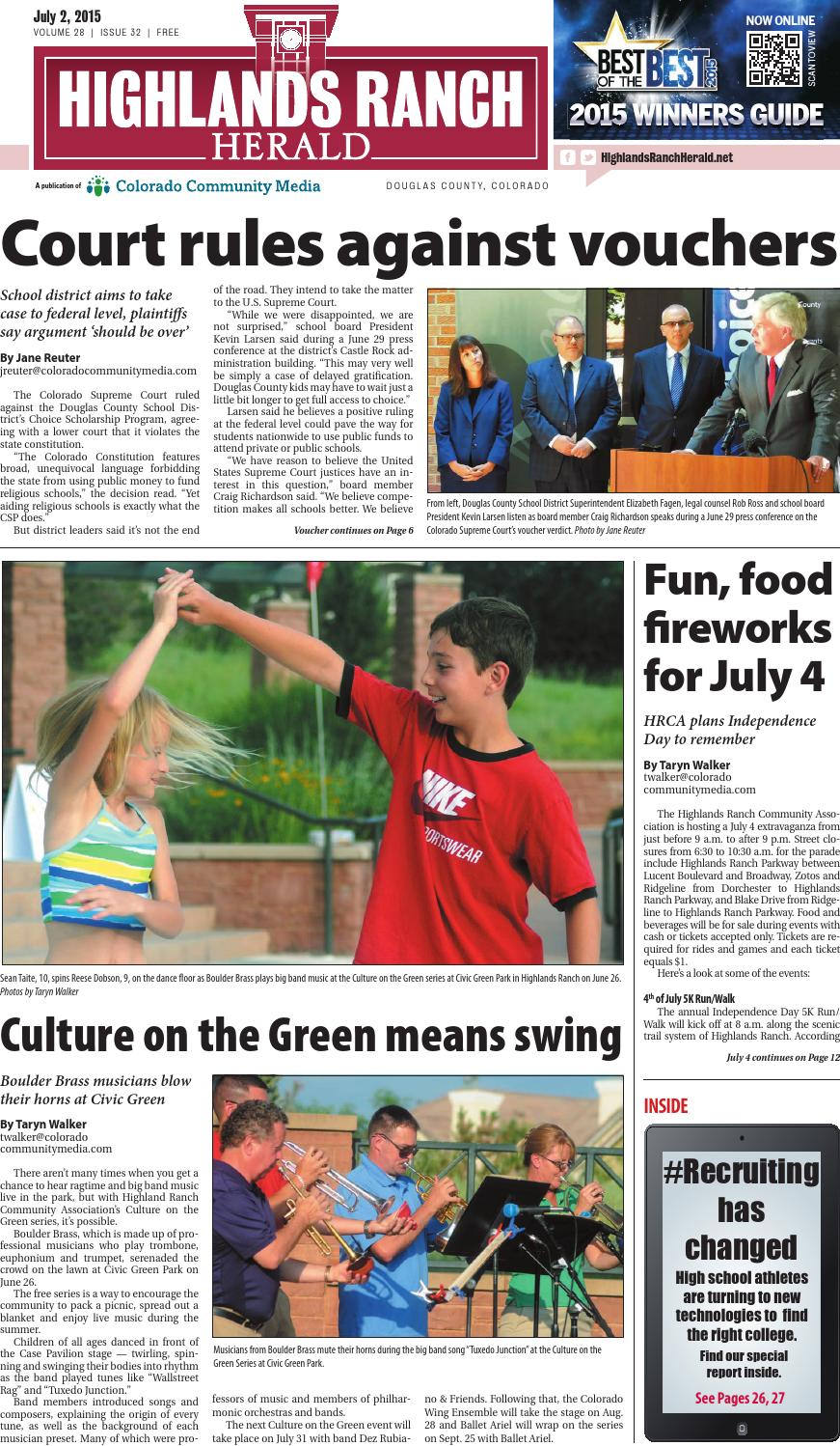 Highlands Ranch Herald 0702 by Colorado Community Media - issuu