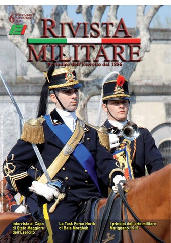 RIVISTA MILITARE 2010 N.6 by Biblioteca Militare - issuu 08771d98138e