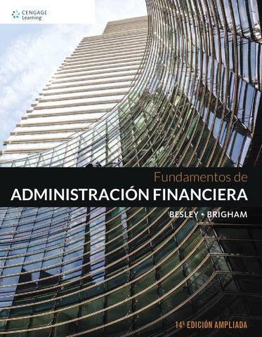 Fundamentos De Administracion Financiera Scott Besley 12 Edicion Pdf