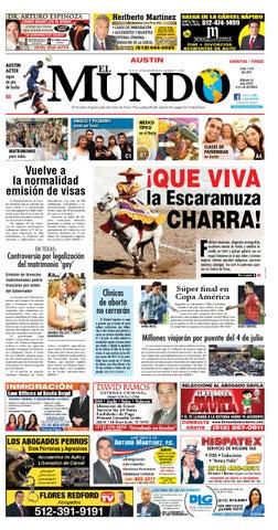 El Mundo Newspaper Austin 26 by El Mundo Newspaper - issuu
