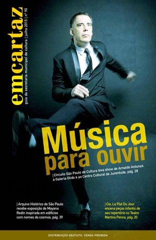 62fe48ee4773d Em Cartaz - Julho 2015 by Em Cartaz - Revista da Secretaria ...