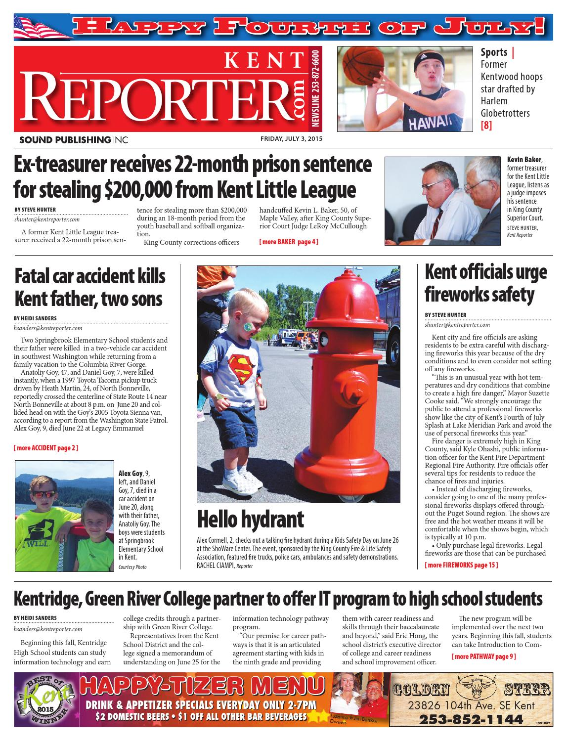 Kent Reporter, July 03, 2015 by Sound Publishing - issuu